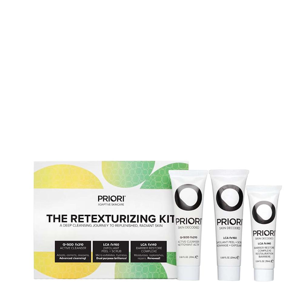 Priori Skincare The Retexturizing Kit